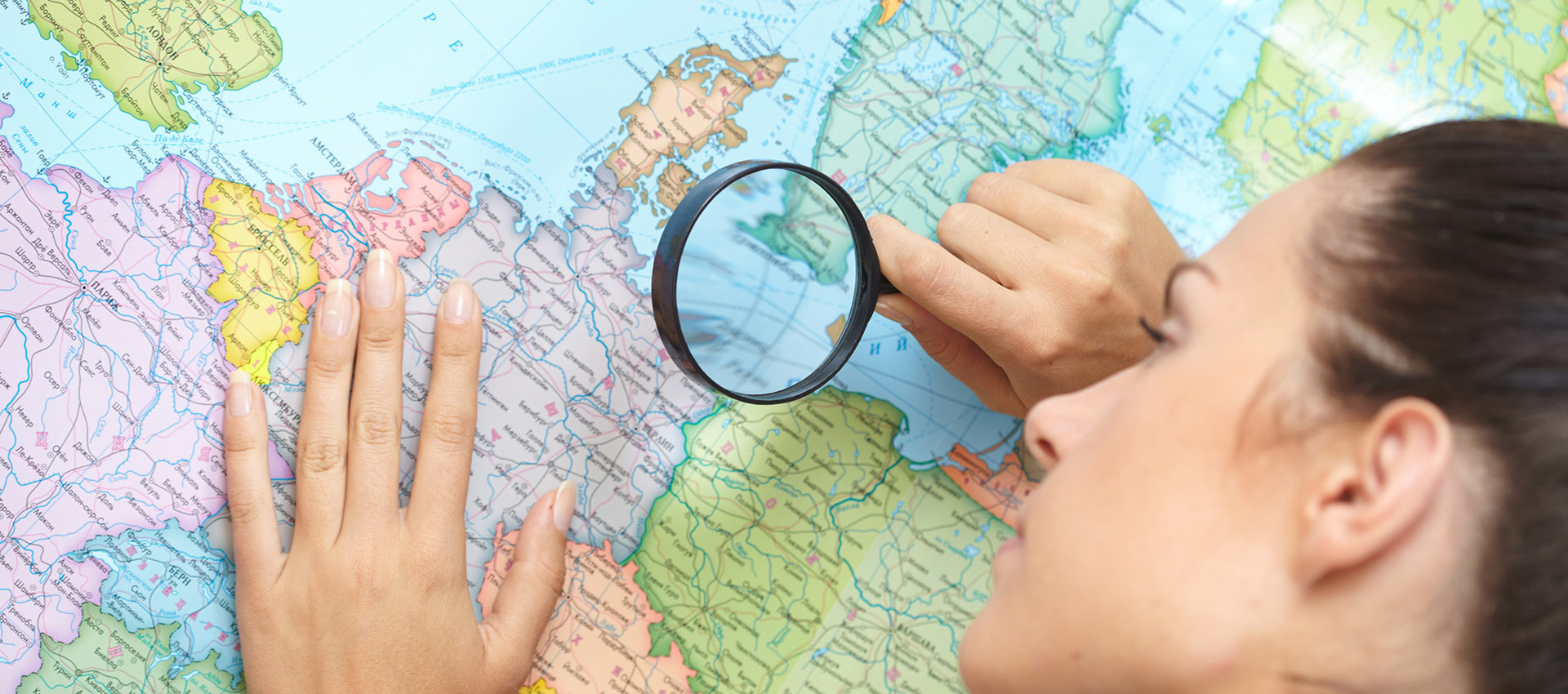 WE HAVE CONTACTS ALL OVER THE WORLD