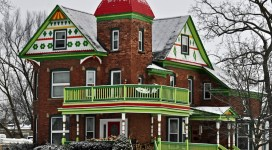 Colorful Historic Home Lapeer Michigan
