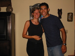 With Miguel, my beloved dance teacher