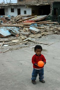 children and earthquakes